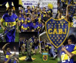 Rompicapo di Boca Juniors, campione dil torneo Apertura 2011 in Argentina