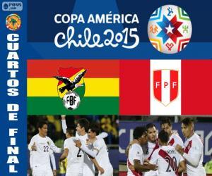 Rompicapo di BOL - PER, Copa America 2015