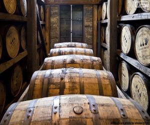 Rompicapo di Botti di Whisky
