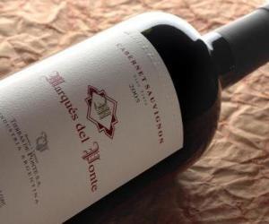 Rompicapo di Bottiglia di vino
