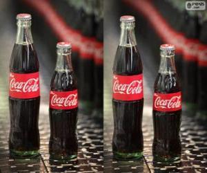 Rompicapo di Bottiglie originale di Coca-Cola