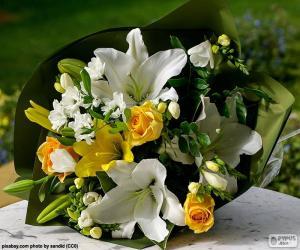 Rompicapo di Bouquet per la sposa