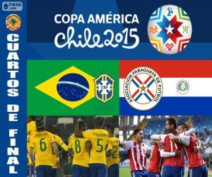 Rompicapo di BRA - PAR, Copa America 2015