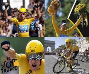 Rompicapo di Bradley Wiggins vincitore del Tour de France 2012