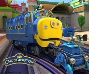 Rompicapo di Bruno, locomotiva diesel-elettrica da Chuggington