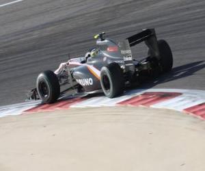 Rompicapo di Bruno Senna - HRT - Bahrain 2010