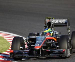 Rompicapo di Bruno Senna - HRT - Suzuka 2010