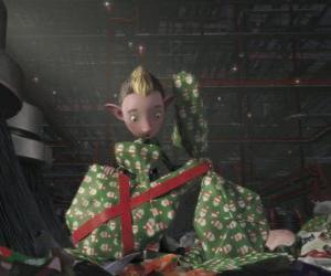 Rompicapo di Bryony, un elfo del Battaglione da fare pacchetto regalo
