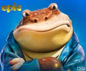 Rompicapo di Bufo, una rana che è un uomo d'affari nel mondo segreto