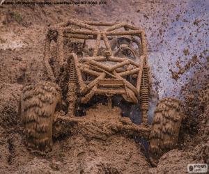 Rompicapo di Buggy 4x4 nel fango