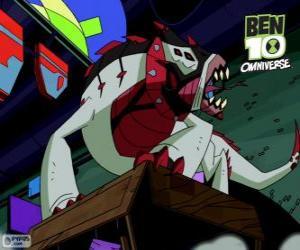 Rompicapo di Buglizard è uno degli alieni del Nemetrix, Ben 10 Omniverse