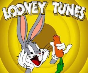 Rompicapo di Bugs Bunny, il coniglio protagonista delle avventure di Looney Tunes