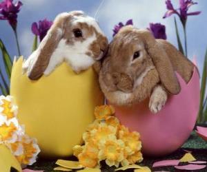 Rompicapo di Bunnies le uova di Pasqua