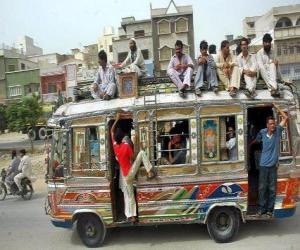 Rompicapo di Bus, Karachi