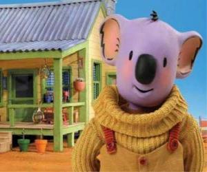 Rompicapo di Buster è uno dei fratelli koala che vivono avventure divertenti nel deserto australiano, I fratelli Koala
