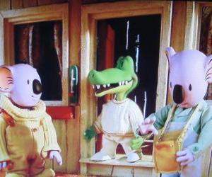 Rompicapo di Buster e Frank con il suo amico Archie il coccodrillo
