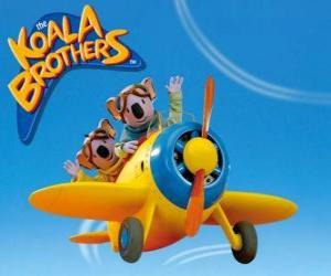 Rompicapo di Buster e Frank pilotando un aereo
