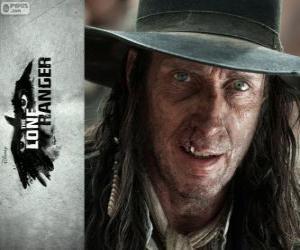 Rompicapo di Butch Cavendish (William Fitchner) nel film Lone Ranger