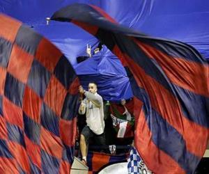 Rompicapo di C. A. Osasuna bandiera