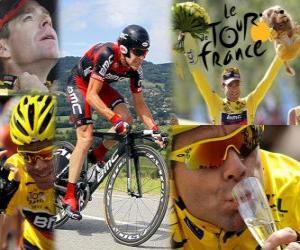 Rompicapo di Cadel Evans vincitore del Tour de France 2011