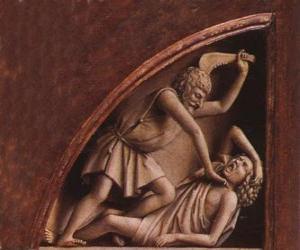 Rompicapo di Caino, il primogenito di Adamo ed Eva, al momento di uccidere suo fratello Abele