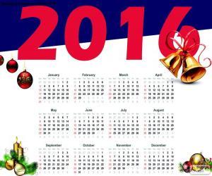 Rompicapo di Calendario 2016
