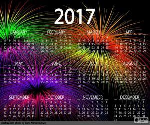 Rompicapo di Calendario 2017, anno felice