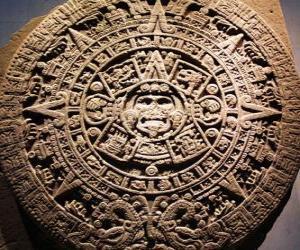 Rompicapo di Calendario mistico azteco