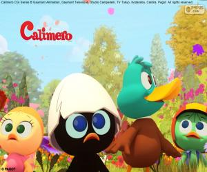 Rompicapo di Calimero con gli amici