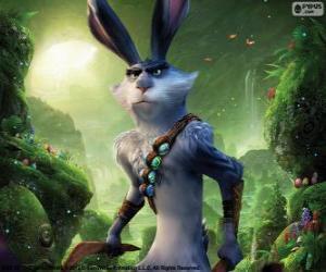 Rompicapo di Calmoniglio, chiamato coniglietto di Pasqua. Carattere da Le 5 leggende