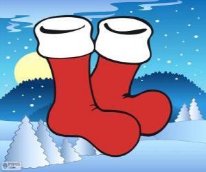 Rompicapo di Calze di Babbo Natale