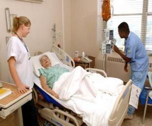 Rompicapo di Camera de ospedale