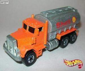 Rompicapo di Camion cisterna, Hot Wheels