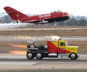 Rompicapo di Camion contro aeroplano