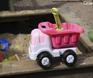 Rompicapo di Camion giocattolo