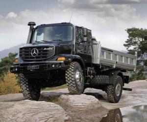 Rompicapo di Camion Mercedes-Benz Zetros