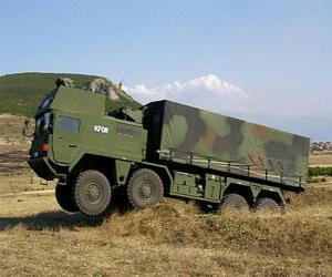 Rompicapo di Camion militare