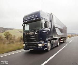 Rompicapo di Camion Scania R 580 4×2 Streamline