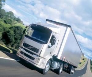 Rompicapo di Camion Volvo VM è un camion medio