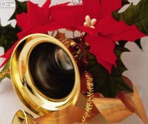 Rompicapo di Campana decorata per Natale