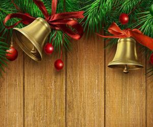 Rompicapo di Campane di Natale di carta da parati