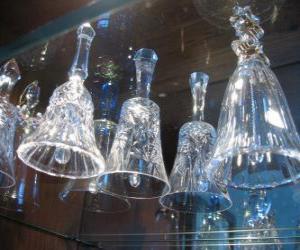 Rompicapo di Campane di Natale di vetro