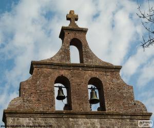 Rompicapo di Campanile di una chiesa