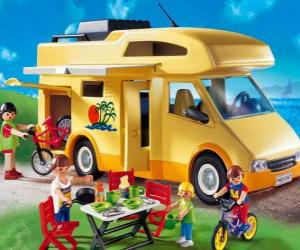 Rompicapo di Camper o autocaravan Playmobil