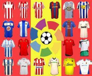 Rompicapo di Campionato di Spagna di Calcio - La Liga