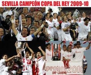 Rompicapo di Campione del Sevilla Copa del Rey 2009-2010