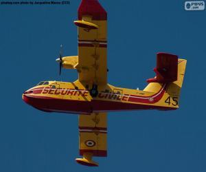 Rompicapo di Canadair CL-215, idrovolante