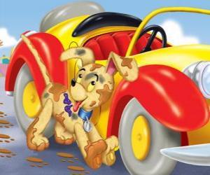 Rompicapo di Cane Bumpy accompagna Noddy nelle sue avventure