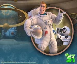 Rompicapo di Capitano Charles Chuck Baker, con il suo robot Rover