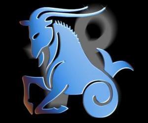 Rompicapo di Capricorno. La capra-pesce. Decimo segno dello zodiaco. Il nome latino è Capricornus